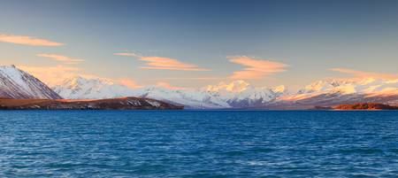 Snow-capped Mountains of The Southern Alps
