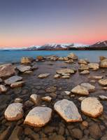 Enchanted Sunset at Lake Tekapo