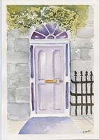 Ireland Lavender Door