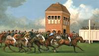 Early Thoroughbred Horse Race