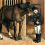 """Horse and Young Rider"" by jacksby"
