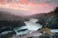 Great Falls Mather Gorge Potomac River Landscape