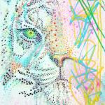 """Bubble Gum Tiger"" by ArtPrints"