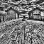 """Penarth Pier 2 Monochrome"" by StevePurnell"