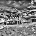 """""""Penarth Pier 3 Monochrome"""" by StevePurnell"""