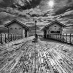 """Penarth Pier 1 Monochrome"" by StevePurnell"