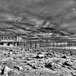 """Penarth Pier 4 Monochrome"" by StevePurnell"
