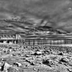 """""""Penarth Pier 4 Monochrome"""" by StevePurnell"""