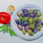 """Olive Plate"" by joeyartist"
