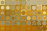 Circles and Squares 30. Modern Abstract Fine Art