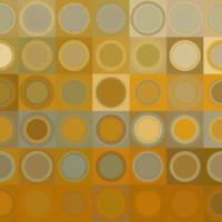 """Circles and Squares  Modern Abstract Fine Art"" by Mark Lawrence"