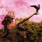 """Garden Angel"" by hannahsview"