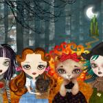 """Oz Girls"" by sandygrafik_arts"