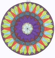 March Flower Mandala
