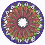 """Inner Leaves Mandala"" by Heartworks"