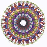 """""""You are the Center Mandala"""" by Heartworks"""