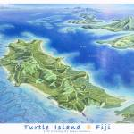 """Turtle Island, Fiji"" by jamesniehuesmaps"