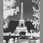 """Eiffel Tower Seine River Bridge Enhanced neg borde"" by TheNorthernTerritory"