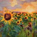 """Sun Gazing"" by jacquelinebrewerart"