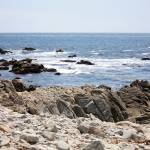 """Rocky California Coastline"" by Groecar"