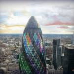 """The Gherkin"" by ArtByRuta"