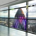"""The Gherkin From Heron Tower"" by ArtByRuta"