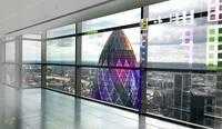 The Gherkin From Heron Tower