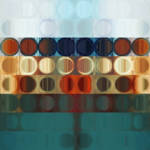 """Circles and Squares 31. Modern Art"" by MarkLawrence"
