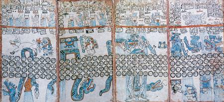 Maya Codices. The Madrid Codex (Codex Tro-Cortesia