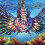 """202-LionFish-Morgret"" by nancytilles"