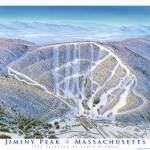 """Jiminy Peak Massachusetts"" by jamesniehuesmaps"
