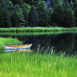 """Rowboat on Mill Pond, Orleans, Cape Cod"" by CapeLight"