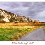 """samphire hoe and white cliffs"" by Dandesborough"