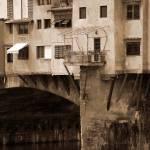 """Shops on the Ponte Vecchio"" by DonnaCorless"