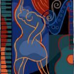 """""""M The Piano"""" by Ortega"""