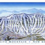 """Pajarito Mountain New Mexico"" by jamesniehuesmaps"