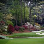 """Amen Corner Augusta Georgia Golf Golfers"" by AngelWingsArt"