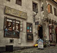 Vintage store in Czech Republic