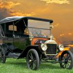 """1914 Ford Model T Touring Car"" by FatKatPhotography"