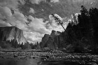 Valley View, Yosemite (B/W)