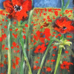 """POPPIES  LARRY KIP HAYES ART"" by kiphayes"