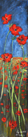 POPPIES  LARRY KIP HAYES ART