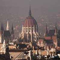 Budapest - Rooftop of Parliament Building Art Prints & Posters by Emil Tudorache