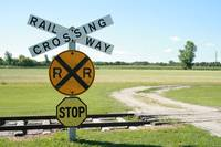 Rural Railway Crossing