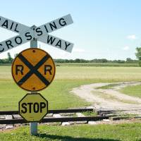 """Rural Railway Crossing"" by Robert Hamm"