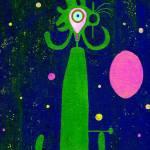 """Blue Man Green"" by LimeCreekArt"