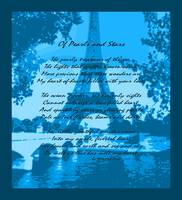 Of Pearls & Stars Eiffel Tower Seine River Indigo