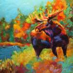 """Moose Country"" by jacquelinebrewerart"