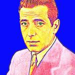 """Humphrey Bogart"" by ArtCinemaGallery"
