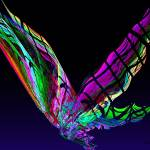 """Fractal - Butterfly in Flight"" by susansartgallery"